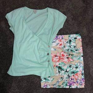 GUESS Skirt Set